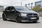 Mercedes A45 AMG Black Series обкатывают на Нюрбургринге